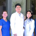 Dr Lee Team Outside